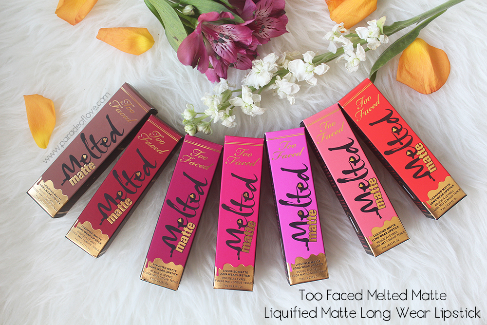 Too Faced Melted Matte