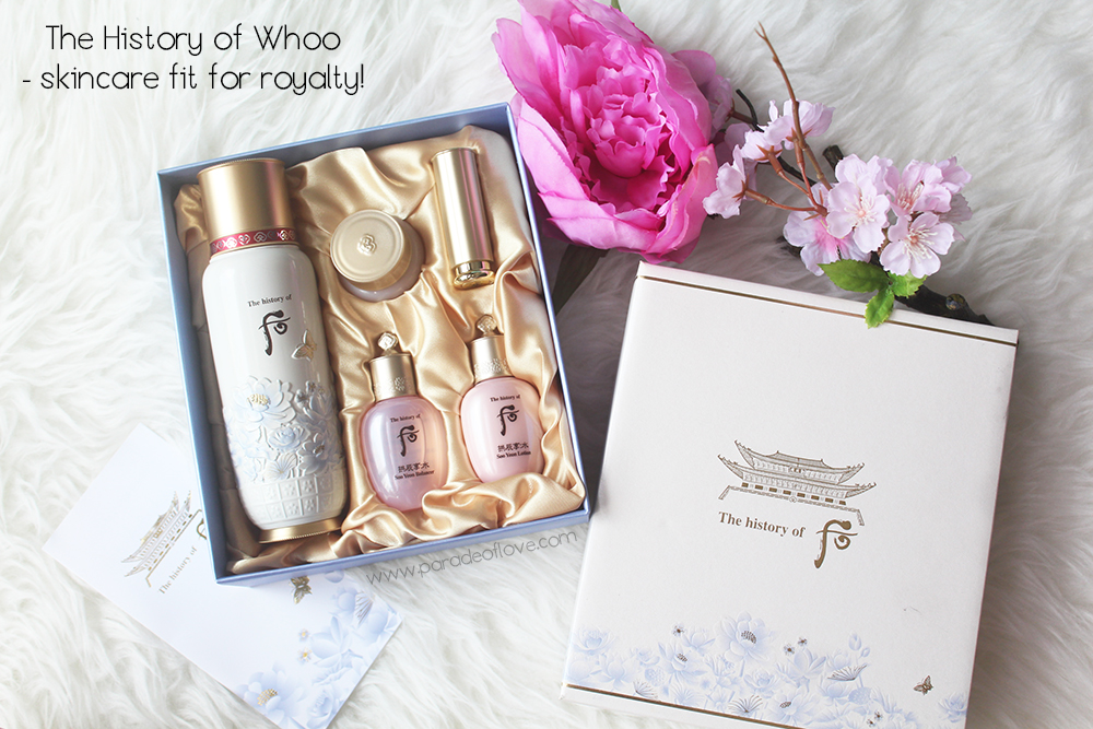 History of Whoo Soon Hwan Essence