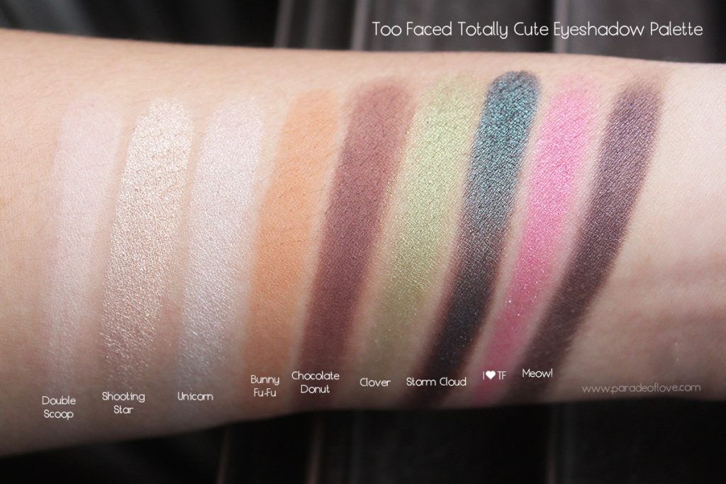 too-faced-totally-cute-eyeshadow-palette-swatches