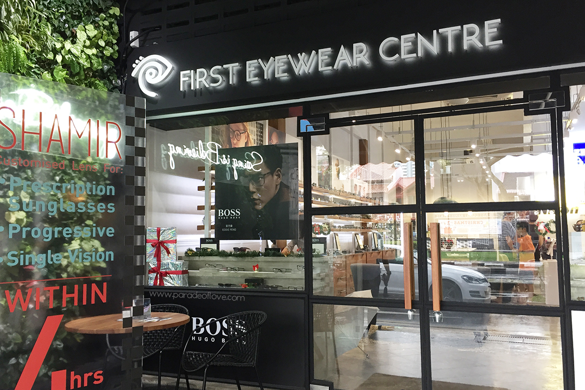Designer Glasses at First Eyewear Centre