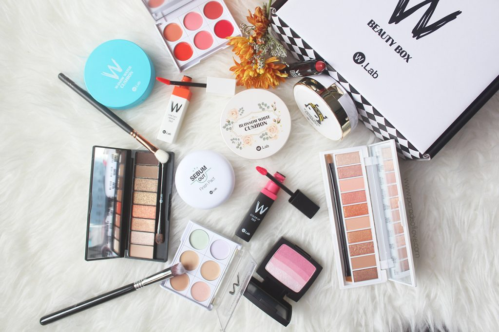 Spring K-Beauty Makeup with W.Lab Cosmetics